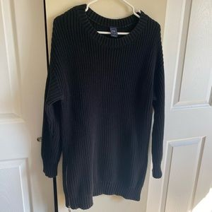 GAP | Sweater Dress | Black | M |